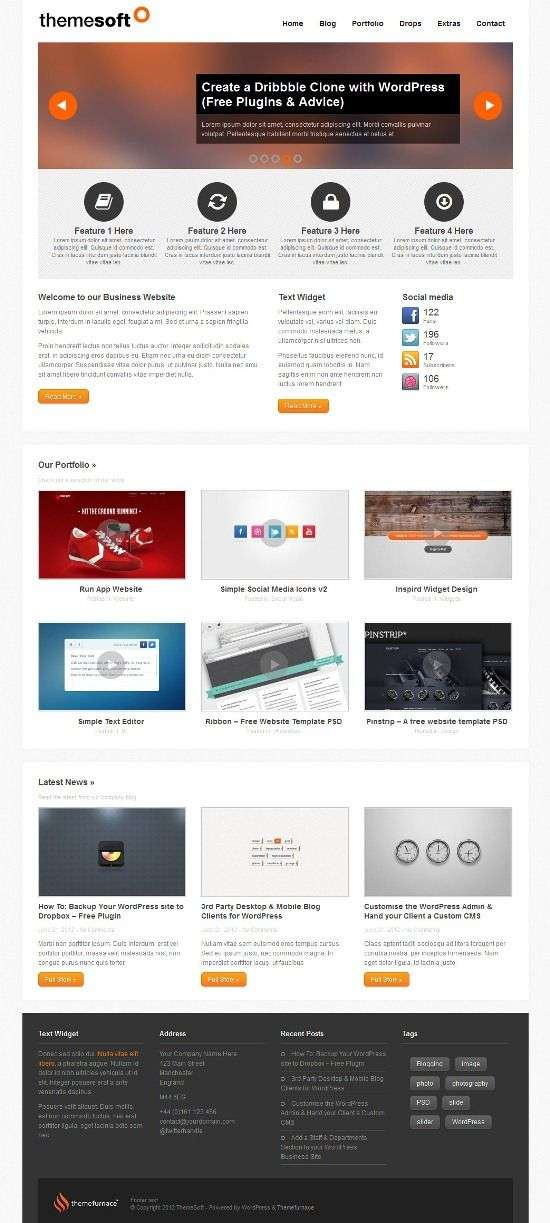 themesoft themefurnace - Themesoft WordPress Theme