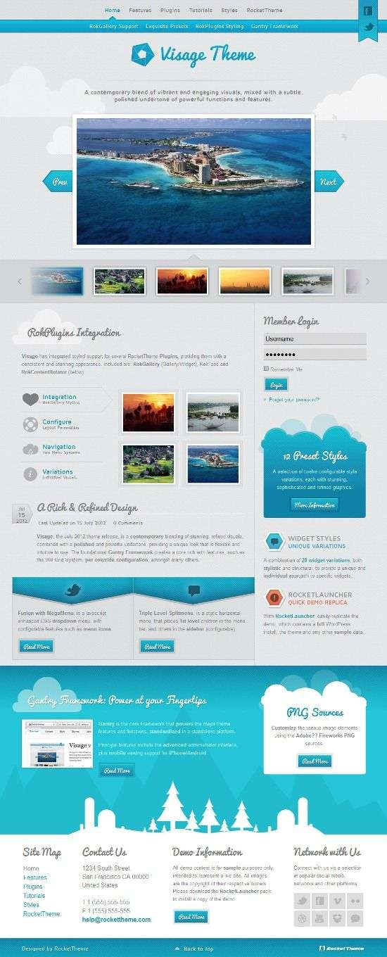 visage rockettheme avjthemescom 01 - Visage WordPress Theme