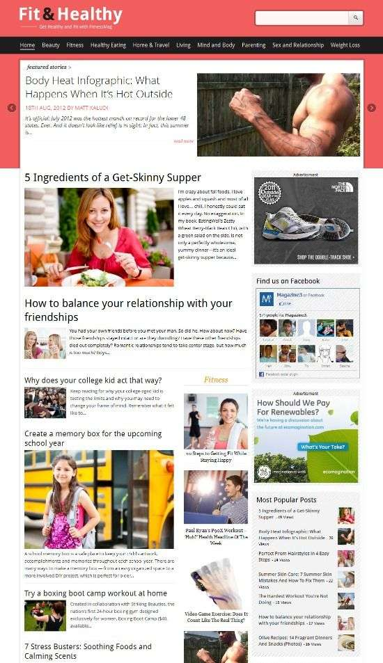 fit n healthy magazine3 avjthemescom 01 - Fit&Healthy WordPress Theme