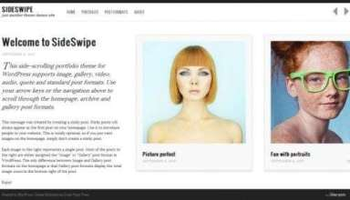 sideswipe graphpaperpress avjthemescom 01 - Sideswipe WordPress Theme