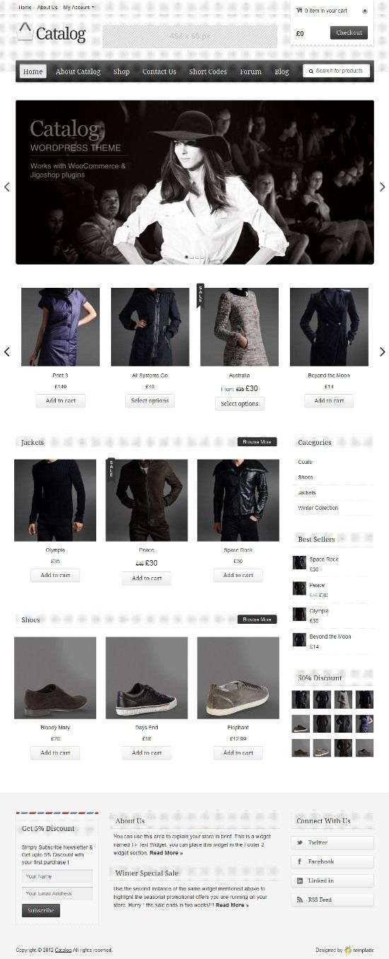 catalog templatic avjthemescom 01 - Catalog WordPress Theme