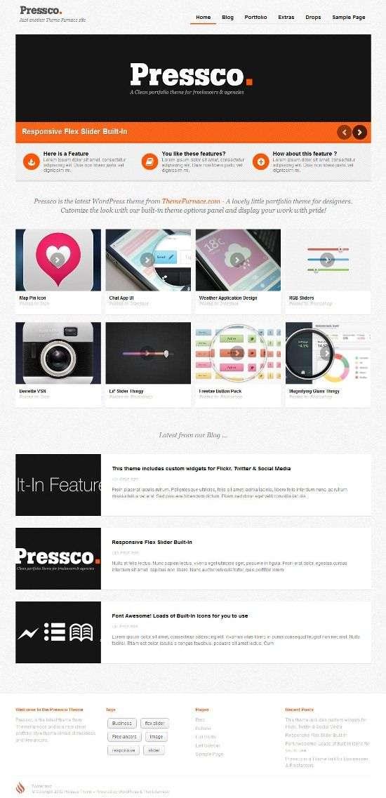 pressco themefurnance avjthemescom 01 - Pressco WordPress Theme