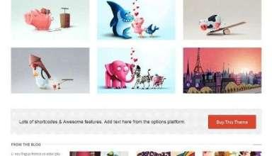 clean themepure avjthemescom 01 - ThemePure Clean WordPress Theme
