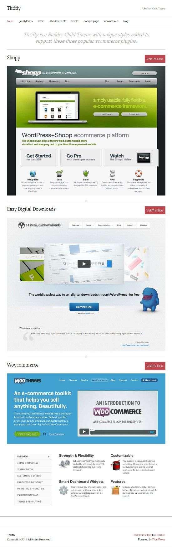 thrifty ithemes avjthemescom 01 - Thrifty WordPress Theme