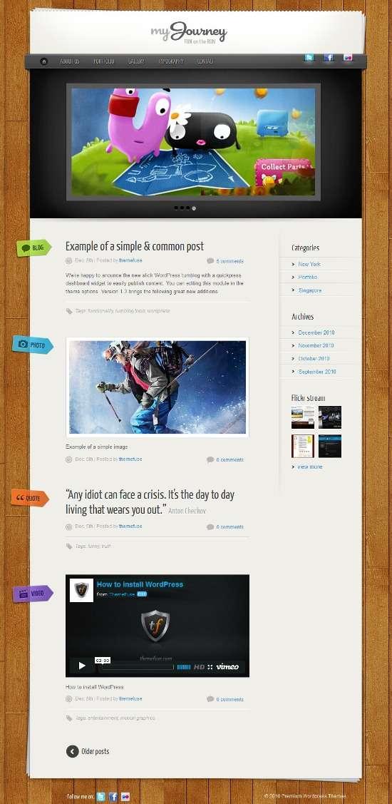 my journey themefuse avjthemescom 01 - My Journey WordPress Theme