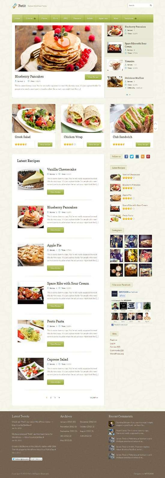 petit wpzoom avjthemescom 01 - Petit WordPress Theme