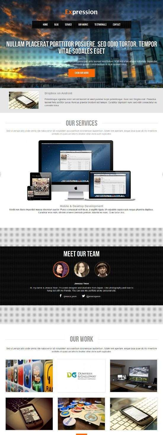 expression colorlabs project avjthemescom 01 - Expression WordPress Theme