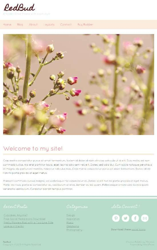 redbud ithemes avjthemescom 01 - Redbud WordPress Theme