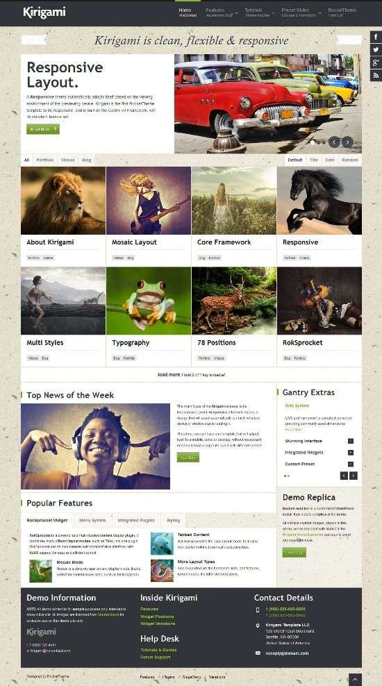 kirigami rockettheme avjthemescom 01 - Kirigami WordPress Theme
