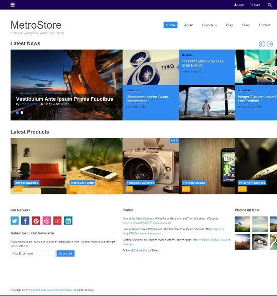 metrostore colorlabsproject avjthemescom 01 - Metrostore WordPress Theme
