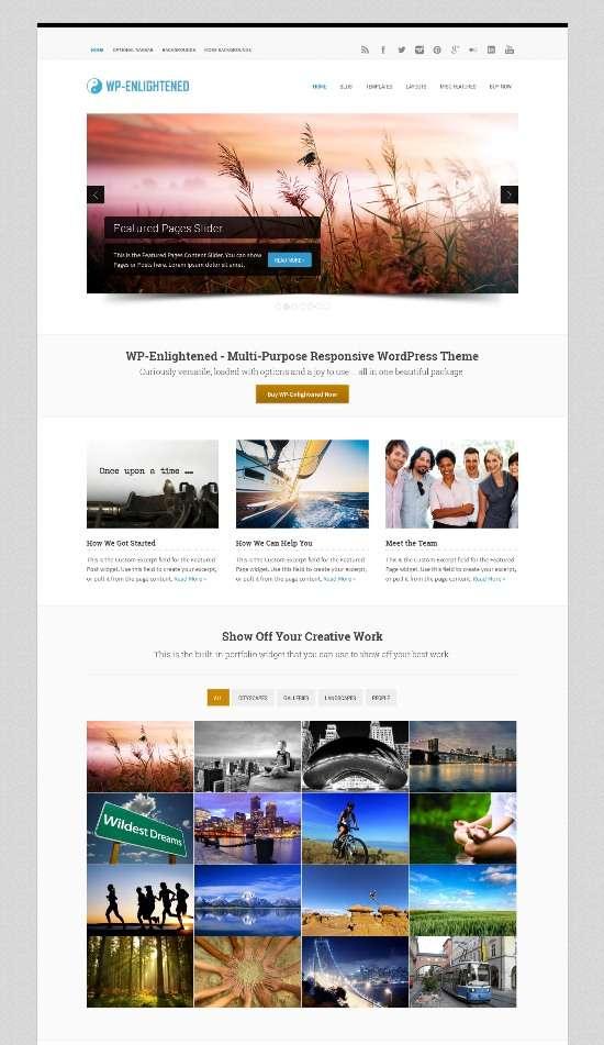 wp enlightened solostream avjthemescom 0 - WP-Enlightened WordPress Theme