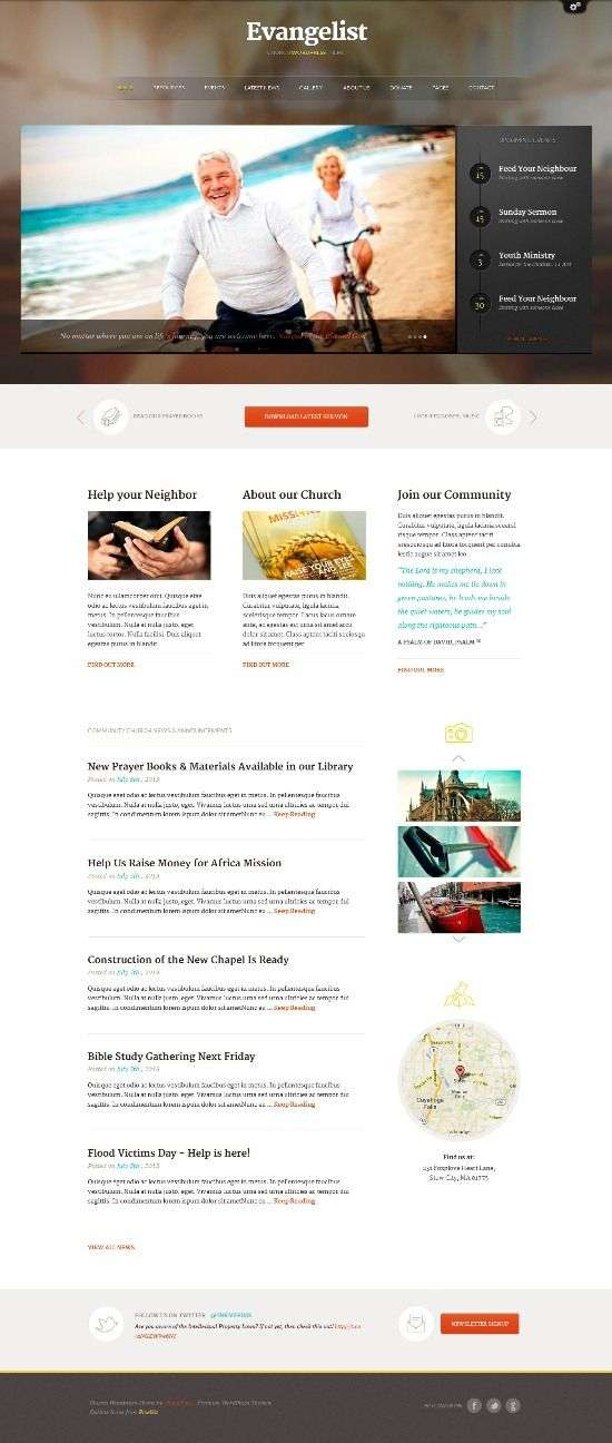 evangelist themefuse avjthemescom 01 - Evangelist WordPress Theme
