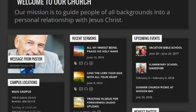 resurrect churchthemes avjthemescom 1 - Resurrect WordPress Theme