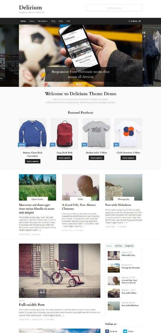delirium wpzoom avjthemescom 01 - Wpzoom Delirium WordPress Theme