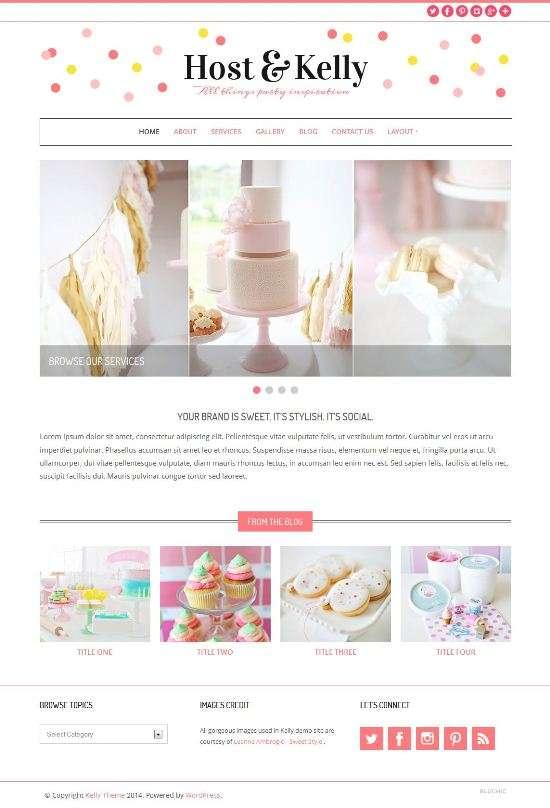 kelly bluchic avjthemescom 01 - Kelly WordPress Theme