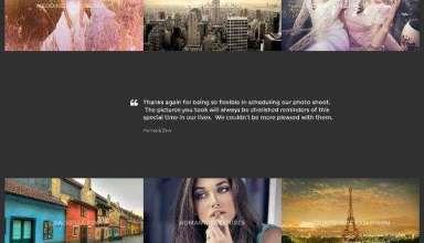 vignette cssigniter portfolio - Vignette WordPress Theme
