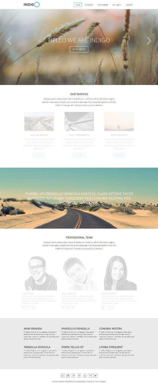 indigo vivathemes avjthemescom 01 - Indigo WordPress Theme