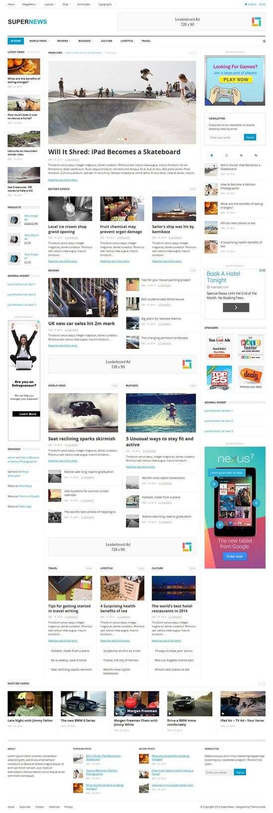 supernews theme junkie 1 - supernews-theme-junkie-1