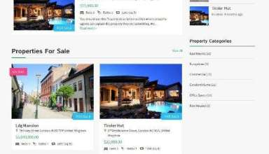 homequest template real estate directory theme 01 - Templatic HomeQuest WordPress Theme