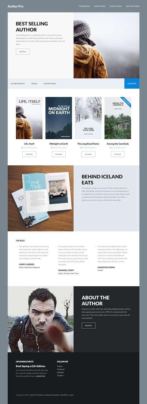 author pro studiopress wordpress theme - author-pro-studiopress-wordpress-theme