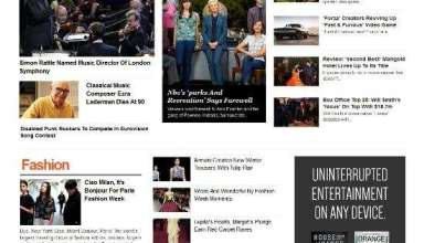 entertainment news magazine3 wordpress theme 01 - Entertainment News WordPress Theme