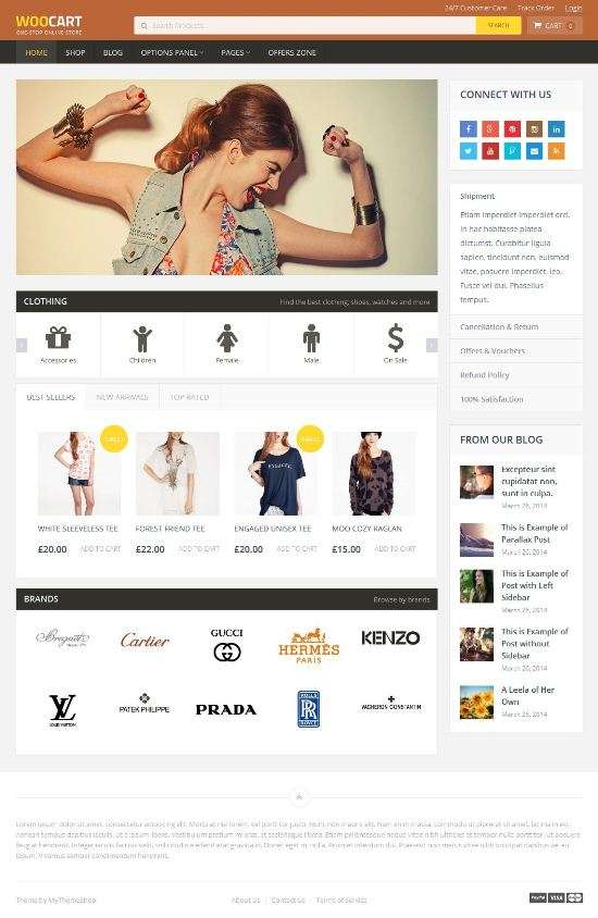 woocart mythemeshop wordpress theme 01 - WooCart WordPress Theme