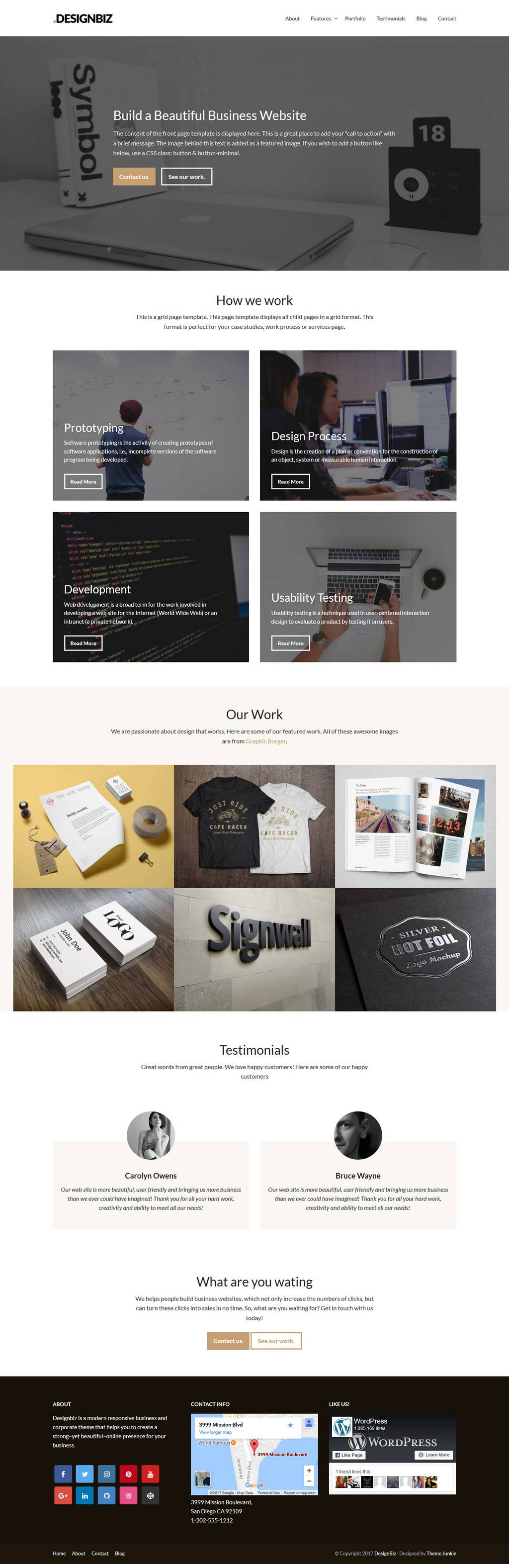 designbiz theme junkie wordpress theme 01 - designbiz-theme-junkie-wordpress-theme-01