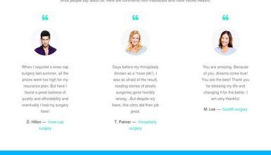 healtro medical wordpress theme 01 - Healtro WordPress Theme