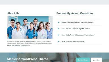 medicpress proteusthemes wordpress theme 01 - MedicPress WordPress Theme
