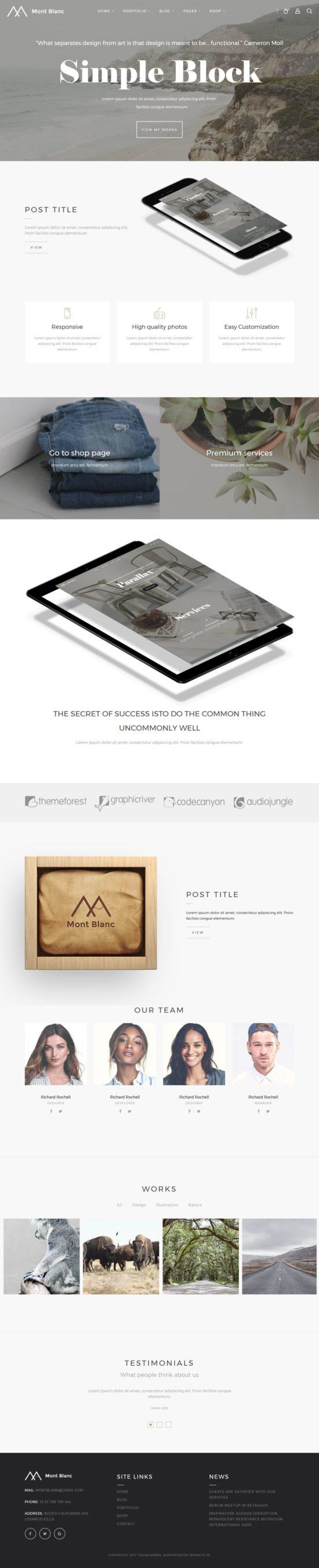 montblanc tesla themes wordpress themes 01 550x2699 - Montblanc WordPress Theme
