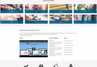 public institutions pixelemu wordpress theme 01 - Public Institutions WordPress Theme