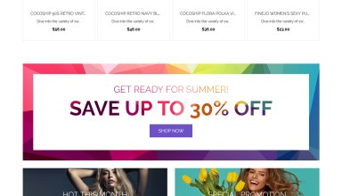 swimaloo template monster swimwear magento theme 01 - Swimaloo Magento Theme