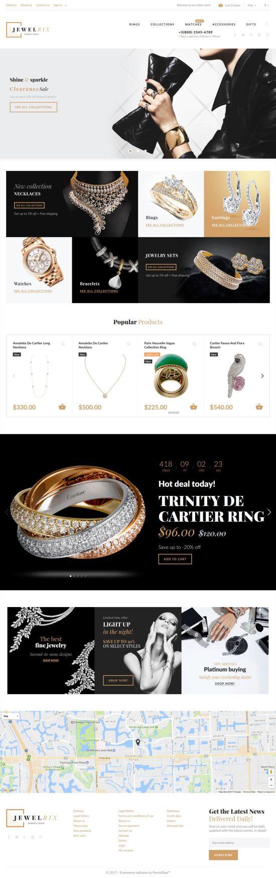 Jewelrix Prestashop Theme