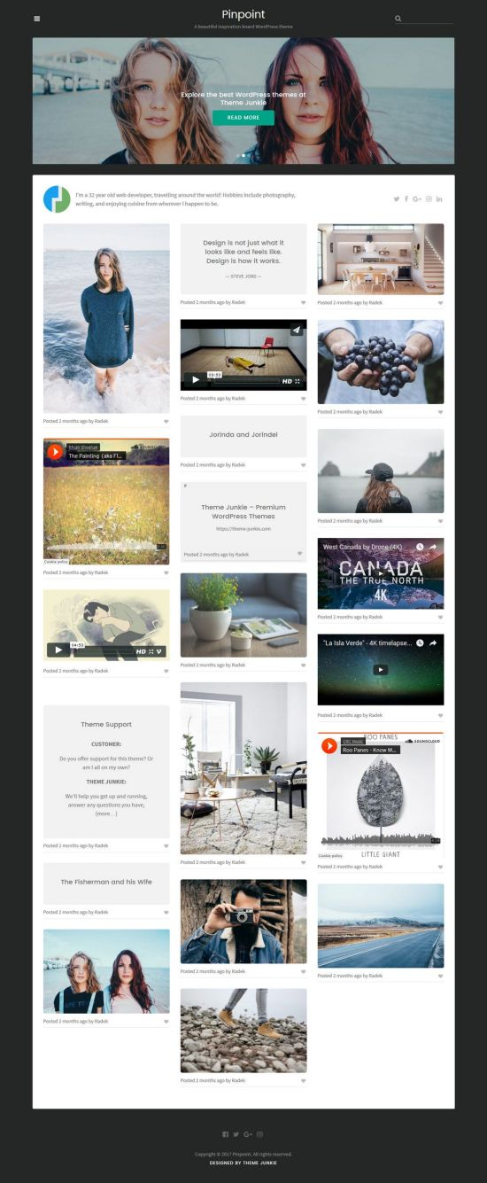 theme junkie pinpoint wordpress theme 01 - Pinpoint WordPress Theme