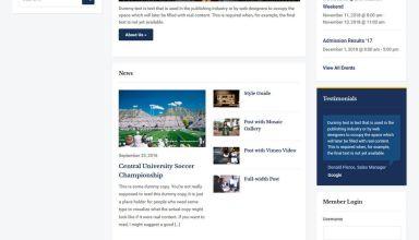academica pro 3 education WordPress theme 01 - Academica Pro 3.0 WordPress Theme