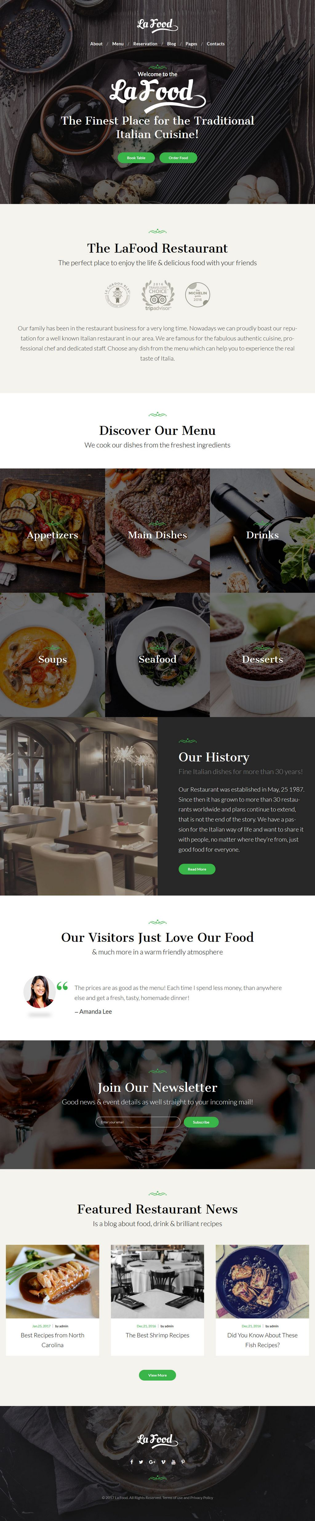 la food wordpress theme restaurants 01 - la-food-wordpress-theme-restaurants-01