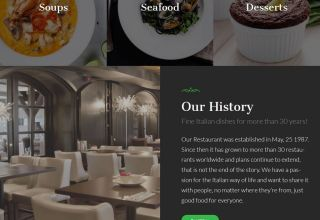 la food wordpress theme restaurants 01 - La Food WordPress Theme