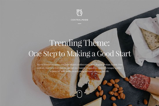 Simply Delicious: Café & Restaurant WordPress Website