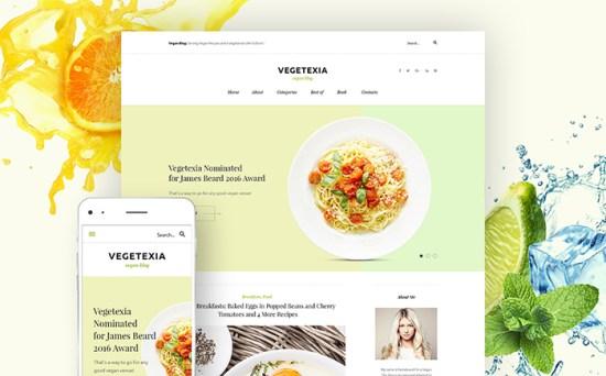 58572 big - Top 20 Food WordPress Themes with Flat Designs 2017