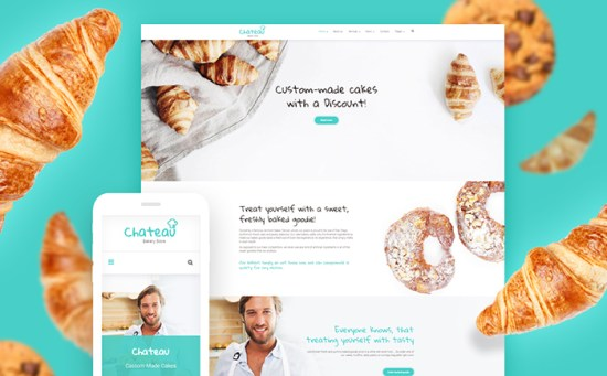 59016 big - Top 20 Food WordPress Themes with Flat Designs 2017