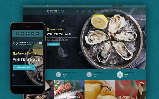 60114 big - Top 20 Food WordPress Themes with Flat Designs 2017