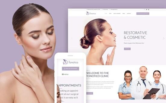 tonotico wordpress theme 01 - Top 20 Fresh Feminine & Minimal WordPress Themes