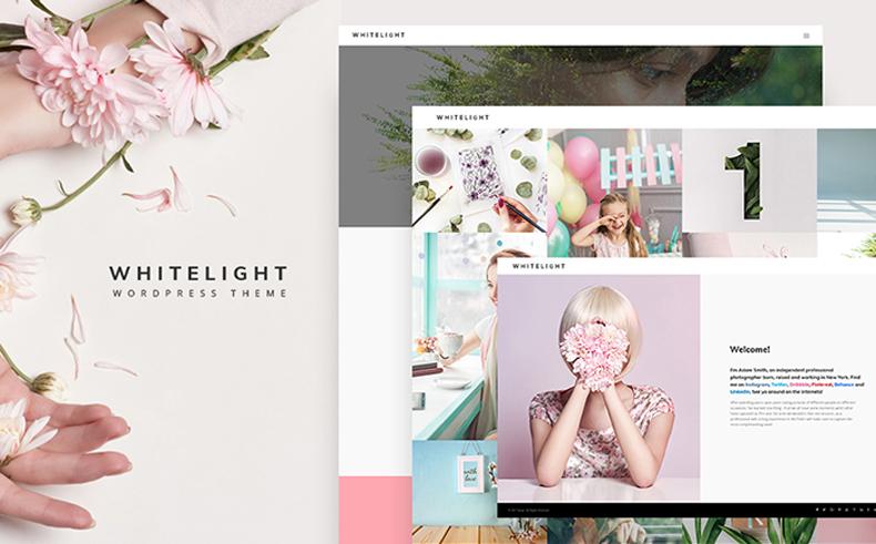 whitelight wordpress theme 01 - whitelight-wordpress-theme-01