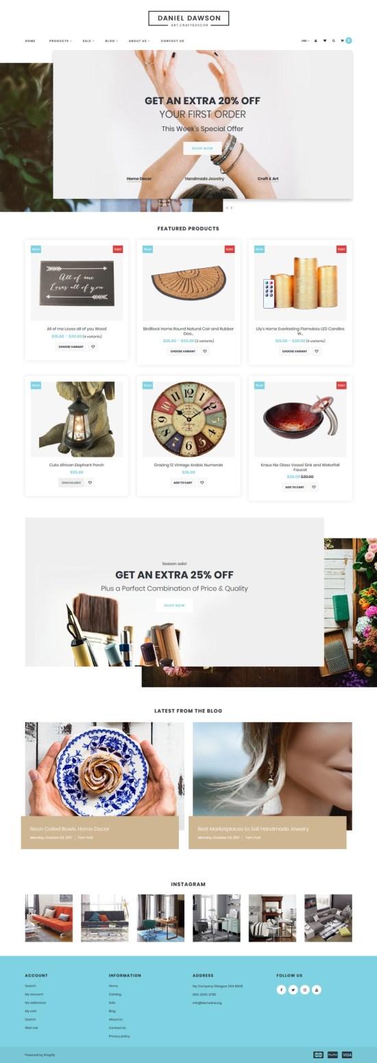 Home Decor Shopify Theme