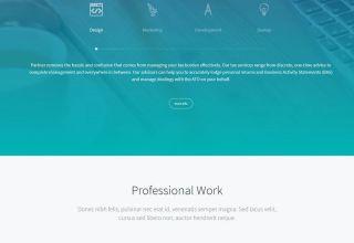 futurico wordpress theme 01 - Futurico WordPress Theme