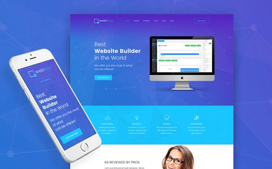Web-Developer Cross-Browser WordPress Theme