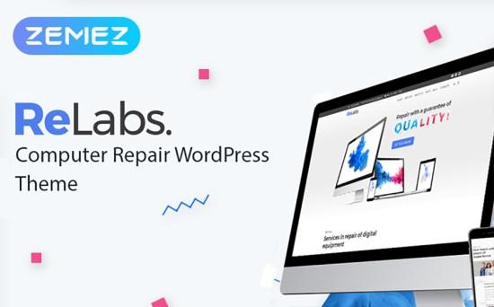 Service Centre Responsive WordPress Theme