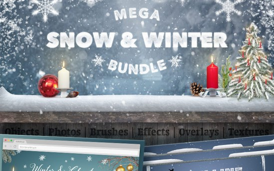 65945 big - Christmas Holidays Are Coming: Get a Bunch of Design Resources to Decorate Your Website