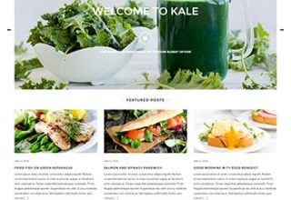 kale pro 1 - LyraThemes WordPress Themes
