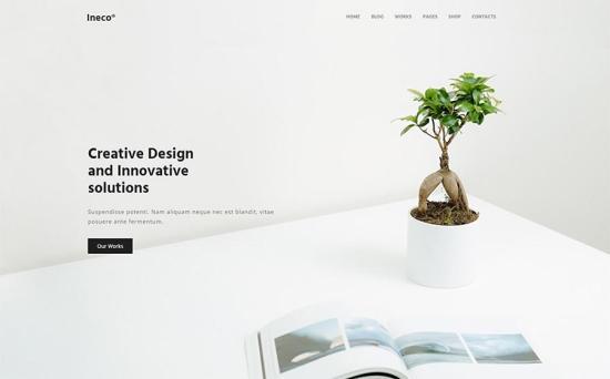 Ineco WordPress Theme
